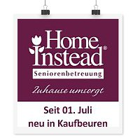Home Instead neu in Kaufbeuren
