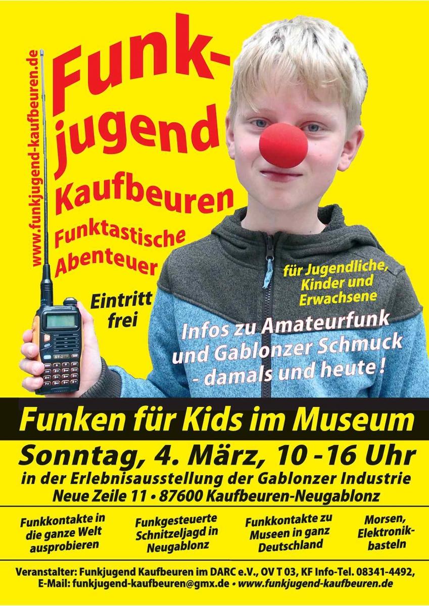 Funken für Kids im Museum! - Wir sind Kaufbeuren - Das Stadtportal