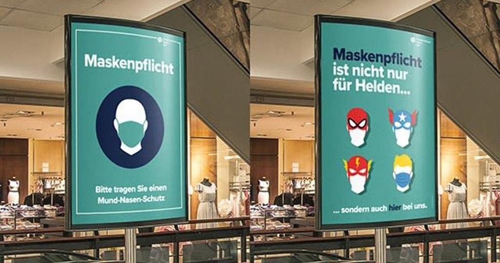 Maskenpflicht: Wichtige Infos und Plakate des ...